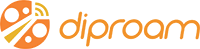 Diproam – 出國上網, 漫遊 Logo